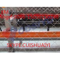 Buy cheap 3m Width 8cm hole Full Automatic Double Wire Chain Link Fence Making Machine for kenya market from wholesalers