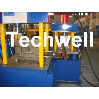 Quality Manual, Hydraulic Decoiler U Section Roll Forming Machine for Steel U Channel for sale