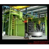 Quality H beam Production Line Shot Blasting Machines for Rust Removing And Polishing of Surface for sale