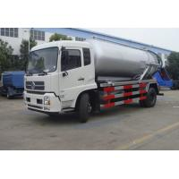 Quality high quality and cheapest price dongfeng tianjin RHD 10m3 sewage suction truck for sale, HOT SALE!  vacuum tank truck for sale