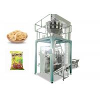 Quality Banana Slices Automated Packing Machine With Computer Weighter High Efficiency for sale
