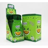 Quality 16g Sugar free mint candy / Green Orange Flavor with Vitamin C / portable sachat package for sale
