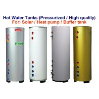 China Pressured Hot Water Holding Tank 6Bar / 87psi Colorful Painted Steel Cover on sale