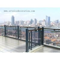 Quality Tempered / toughened glass for balcony fence, terrace fence, balcony railing, terrace railing for sale