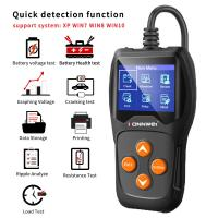 China Plastic Car Battery Tester Analyzer Konnwei Free Upgrade System For 12v Cars on sale