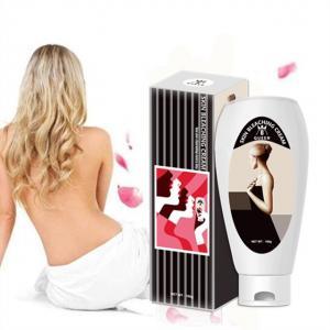 Quality Private Label Vitamin C Whitening Bleaching Cream for Black Ski for sale