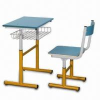 Quality School Furniture with Powder Coating, Made of Steel Frame, Easy to Assemble for sale