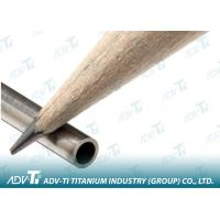 China Thin Wall Capillary Seamless Titanium Pipe Grade 1 For Medical on sale