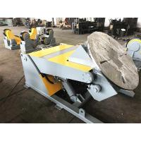 Quality 5T Hydraulic Elevating Welding Rotating Display Table With Remote Hand Control for sale