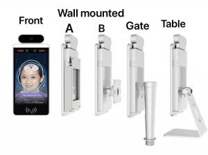Quality IPS LCD screen Temperature Measurement Equipment Face Recognition for sale