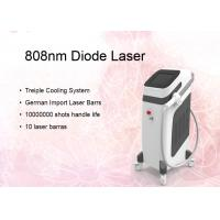 Quality Germany Bars 600w Permanent 808nm Diode Laser Hair Removal With Touch Control for sale