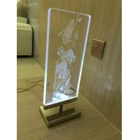 Quality Acrylic screen laser inner carve for sale
