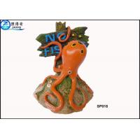Buy Household Eco Friendly Unusual Large Fish Tank Ornaments Decoration With Notice Signs at wholesale prices