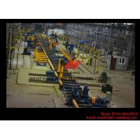 Quality High Speed Column-beam H-beam Automatic Welding Machine With Flux Feeding System for sale