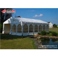Quality Wedding Big Frame Tent Aluminum Roof , Long Life Span Frame Party Tent for sale