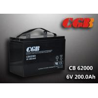Quality CB62000 6v Deep Cycle Battery 200ah Power Energy Solar Wind Lead Acid Sealed Batteries for sale