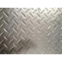 Quality Grade 304 Floor Stainless Steel Checker Plate 4mm 5mm 1500mm X 6000mm for sale