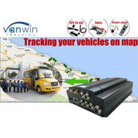 Quality 1TB SATA Hard Drive 4 Channel Car DVR , 3G H.264 DVR for Vehicles for sale
