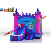 Quality Turrets Colorful Commercial Bouncy Castles  Slide  5 x 4  Meters for Girl for sale