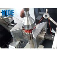 China Semi - Auto Armature Coil Winding Machine For Slot Motor Wire Winding on sale