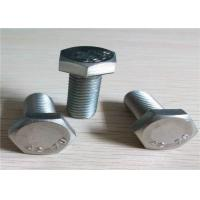 Quality Full Thread Galvanized Hex Bolts , Stainless Steel Hex Bolts For Trucks Or Cars for sale