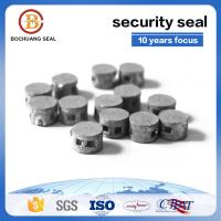 Quality tamper proof disposable lead wire security seals M305  Laser Printing Company Logo number for sale