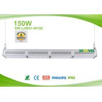 Quality Linear design HiRack 150w LED warehouse lighting for aisle , 5 years warranty for sale