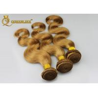 "Quality Brazilian 100% Real Human Hair 27# Color Double Weft 12"" - 30"" Body Wave for sale"