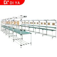 Buy cheap Industrial Workshop Automated Production Line Aluminium Profile Work Table from wholesalers