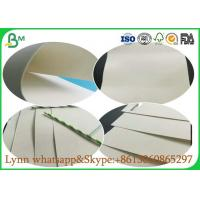 Quality Uncoated Glossy Art Paper , White Absorbent Paper For Making Food And Freezing for sale