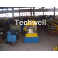 Quality 12-15m/min Forming Speed Box Beam Rack Roll Forming Machine for Upright Rack , Storage Shelf for sale