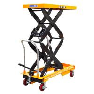 China Mini Manual Lift Table , 1.5 Ton 1700MM Hand Scissor Lift Table Long Service Life on sale
