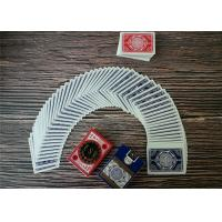 Quality Durable Casino Playing Cards Custom Printing Poker Size Paper And Pvc Material for sale