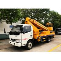 Buy cheap 20 Meters Aerial Platform Truck Dongfeng High Altitude Platform Bucket Lift from wholesalers
