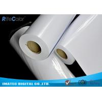 Quality Business Presentation Cast Coated Photo Paper , Water Resistant Inkjet Paper for sale