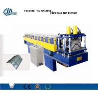 China 0.3 - 0.7mm Tile Roof Ridge Cap Roll Forming Machine , Roofing Sheet Making Machine on sale