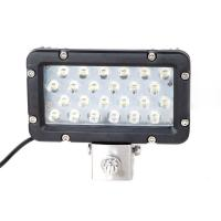 Quality Super Bright 24W 8 Inch Waterproof Aluminum Boat Led Work Light Marine Yacht Work Light for sale