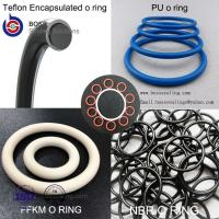 Quality Encapsulated O-Ring,PFA Encapsulated Silicone O RingFEP Encapsulated Viton O-Ring for sale