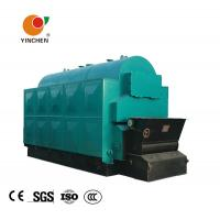 Quality Industrial Fixed Grate Wood Chip Steam Boiler Three Pass For Medicine Industry for sale