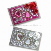 Quality Rhinestone Bling Tattoo Stickers, OEM and ODM Orders are Welcome, Available in Various Colors for sale