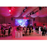 Quality Wedding Stage Decoration Led Full Color Display Screen Cabinet For Exhibition , Ultra Thin for sale