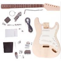Quality Fender ST Style Unfinished DIY Electric Guitar Kits / Semi Finished Guitar AG-ST1 for sale