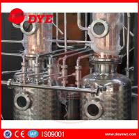 Quality Red Copper Still Kits Copper Distillery Equipment 1-3 Layers SUS304 for sale