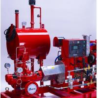 Quality Horizontal Split Case Centrifugal Pump , SS Red Diesel Engine Pump For Fire Fighting for sale