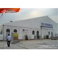 Quality PVC Cover Outdoor Exhibition Tents With ABS Hard Wall / Wooden Floor for sale