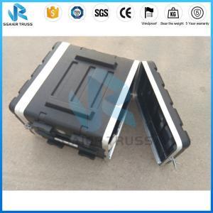 Quality Abs Rack Flight Case Amplifier 3u Rack Case / 6u Rack Case / 8u Rack Case for sale