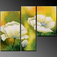 Quality abstract painting room wall picture 50x50cm 3pcs for sale