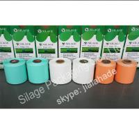 Quality Colored Silage Wrap Film, 250mm*25mic*1800m, Agriculture Silage packing Film,LLDPE UV-resistance film for sale