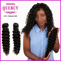 China 8a grade top quality Wholesale factory price human hair deep wave hair weave on sale