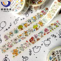 Buy gift wrapping adhesive paper tape at wholesale prices